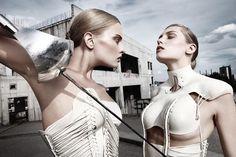 """""""The Body"""" collection 2009 by Katarzyna Konieczka, via Behance"""