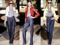 Τα ψηλόμεσα τζην είναι και πάλι στη μόδα | My Fashion Land