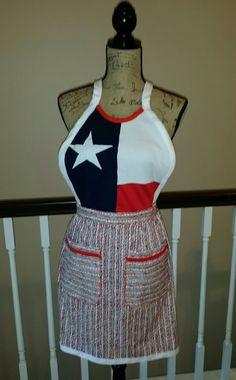 Texas Tshirt Apron