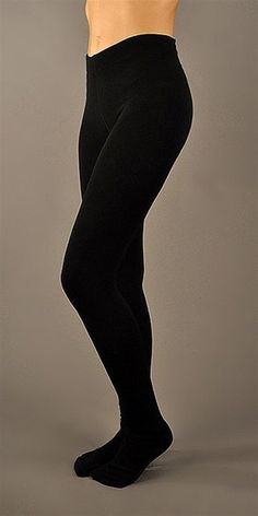 PLUSH black full foot fleece lined tights for added warmth and comfort that are anything but itchy purposefully super soft and thick enough to wear as leggings.- Non-binding waistband