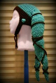 Twi'lek hat! #crochet #crafts #diy
