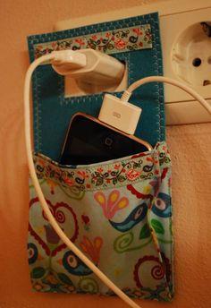 DIY para guardar tu celular y cargarlo