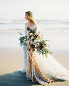 Beach Bridal Portrai