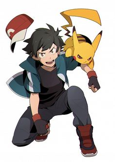 "Kalos Ash and Pikachu ""Pikachu, let's do this! Pikachu Pikachu, Ash Pokemon, Pokemon Team, Pokemon Fan Art, Pokemon Ash Ketchum, Original Pokemon, Pokemon Images, Pokemon Pictures, Satoshi Pokemon"