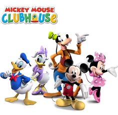 Mickey Mouse Clubhouse | Disney Junior  (We have stuffed Mickey & Minnie.)