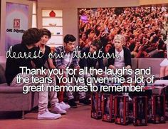 yes thank you One Direction, for everything :) you mean so much to me and all the fans all over the world. WE LOVE YOU!