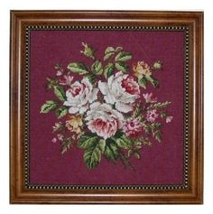Counted Cross Stitch Roses Laura Doyle Designs