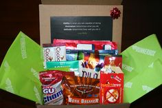 $20 bimonthly subscription, or $20 for a one time GIFTBOX.   www.therunnerbox.com to sign up! Fitness Gear, Fitness Motivation, Health Fitness, Running Workouts, Workout Gear, Christmas Birthday, Pop Tarts, Surfing, Handmade Gifts