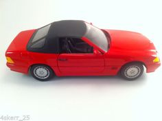 REVELL-1-18th-SCALE-DIE-CAST-MERCEDES-500SL-CABRIOLET-CONVERTIBLE-ROOF