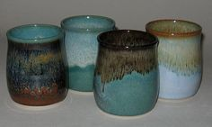 Pottery with beautiful colors