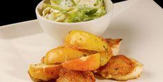 Kalkunfilet med fennikelsalat og krydderepler > Oppskrift | Dinmat.no Snack Recipes, Snacks, Guacamole, Chips, Mexican, Ethnic Recipes, Food, Snack Mix Recipes, Appetizer Recipes