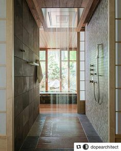 Who wants to shower here?! #Repost @dopearchitect Follow us #designworkstudios for more photos and inspirations #DWS #RDGUK