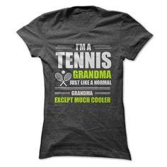 TENNIS GRANDMA T Shirts, Hoodies, Sweatshirts. CHECK PRICE ==► https://www.sunfrog.com/Fitness/TENNIS-GRANDMA-Ladies.html?41382
