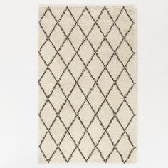 One of my favorite discoveries at WorldMarket.com: 5'x8' Ivory Moroccan Shag Rug
