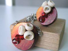 Jewelry set wooden jewelry set handmade jewelry set by SStrkArt