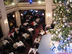 Walnut Room - Marshall Field's , Chicago ate here every Christmas year as a child