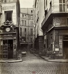 Marville : impasse Saint Claude, de la rue Saint-Sauveur - Paris 2e