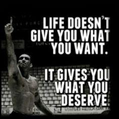 No effort = no results!