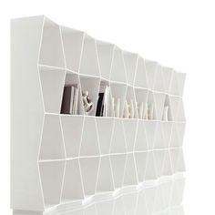 Libreria Wavy - design Giuseppe Bavuso - Alivar