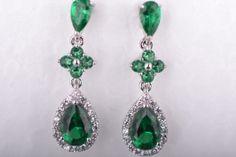 Beautiful drop earrings- Silver Company