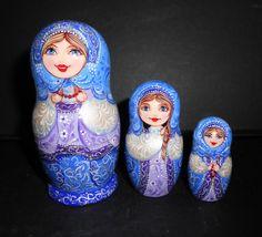 Author's Nesting dolls  matryoshka with the beads by Artworkshop1, $42.00