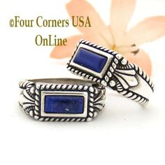 Four Corners USA Online - Sizes 8 To 9 Sterling Lapis Ring Southwest Spirit Silver Jewelry Collection FCR-1489 Closeout Final Sale, $20.00 (http://stores.fourcornersusaonline.com/sizes-8-to-9-sterling-lapis-ring-southwest-spirit-silver-jewelry-collection-fcr-1489-closeout-final-sale/)