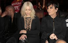 Gothic Katy Perry and Kim Kardashian rock Givenchy in Paris   The ...