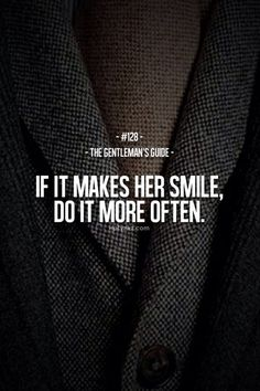 "LOVE LOVE LOVE | TheyAllHateUs #quote ""If it makes her smile, do it more often"""