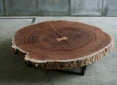 contemporary coffee table in solid wood TRUNK  HEERENHUIS MANUFACTUUR