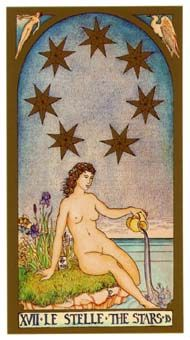 "Brian Williams Renaissance Tarot ""The Stars"" ... This is the deck I have and one…"
