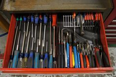 How organized is your tool box drawers? - Page 2 - The Garage Journal Board