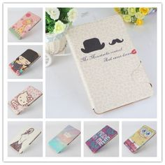 HelloKitty-Cartoon-Flip-Leather-Cover-Case-For-Samsung-Galaxy-Tab-A-T350-8-inch