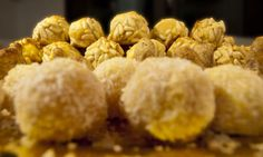 Panellets - Catalan Almond Sweets for All Saints Day
