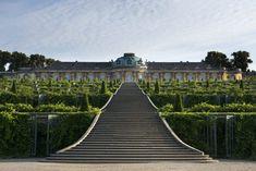 Mittelachse Der Weinbergterrassen Wird Saniert Garten Berlin Terrasse Und Terrassen Treppe