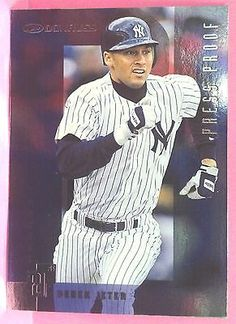 1997 Donruss Silver Press Proofs #49 Derek Jeter 1/2000