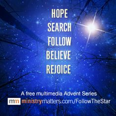 Ministry Matters Advent FollowTheStar
