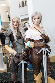 Geralt of Rivia and Ciri