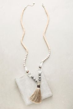 Anthropologie Luciana Tassel Necklace