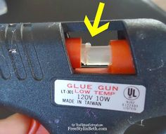 Awesome glue gun trick -- why didn't I think of that?
