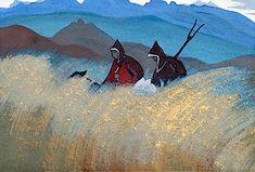 Lamas-reapers - Nicholas Roerich