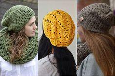 ako nosiť čiapku Crochet Hats, Fashion Outfits, Clothes, Knitting Hats, Outfits, Clothing, Clothing Apparel, Kleding, Cloths