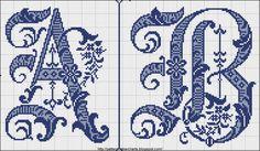 вышивка крестом буквы русского алфавита схемы: 25 тыс изображений найдено в Яндекс.Картинках