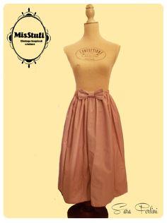 recycle skirt : vecchie parti gonna assemblate e riadattate, pronte ad una nuova vita.