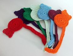 Cat Bookmark FREE Crochet Pattern