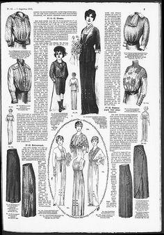 Gracieuse. Geïllustreerde Aglaja, 1913, aflevering 15, pagina 9