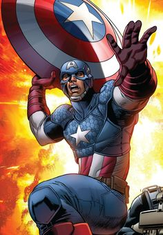 Captain America by Steve Pugh