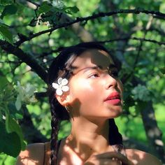 currently under an apple tree Tree Photography, Fashion Photography, Thai Princess, Aesthetic Japan, Ulzzang Korean Girl, Korean Music, Cute Makeup, Celebs, Celebrities