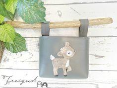 Lenkertasche Reh Feli :: Freigeist - kreatives Handwerk Coin Purse, Wallet, Purses, Baby, Dog Playpen, Free Spirit, Creative Crafts, Tricycle, Small Bags