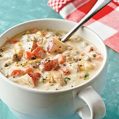 No-Cream Clam Chowder | MyRecipes.com