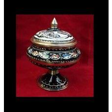 turkish copper sugar bowl